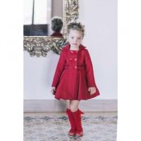 Abrigo rojo capa DOLCE PETIT 2233/A