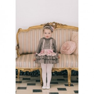 conjunto falda rosa DOLCE PETIT 2246
