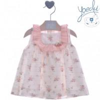 Vestido bebé Mimosa 0337 YOEDU