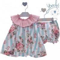 Vestido bebé con pololo Acacia 0343 YOEDU