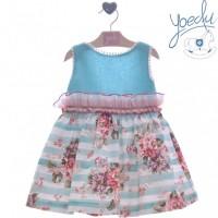 Vestido infantil Acacia 0504 YOEDU