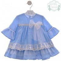 Vestido infantil Cromos 0526 MARTA Y PAULA