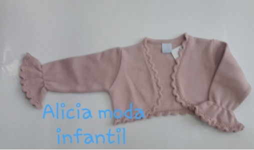 chaqueta rosa palo manga francesa GRANLEI 695