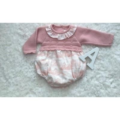 pelele bebe rosa palo 525.1 BABY