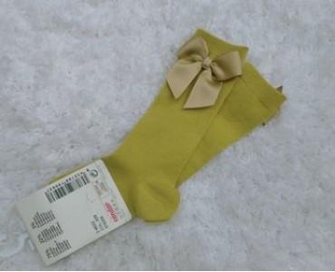 calcetin alto lazo  mostaza 2482/2 color 629ca