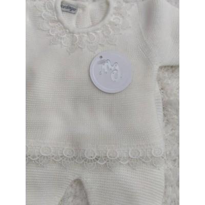 Conjunto polaina ,jersey y capota en crudo NICO DINGO 10631