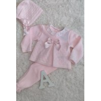 conjunto polaina ,jersey y capota rosa SARDON   MC191