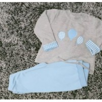 Chandal bebe globitos celeste PC