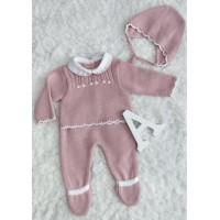 conjunto 3 piezas polaina rosa palo 520 baby