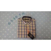 camisa popelin cuadros SPAGNOLO