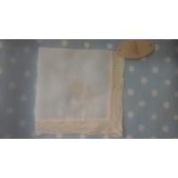 pañuelo bautizo  bordado LILUS ref 23402
