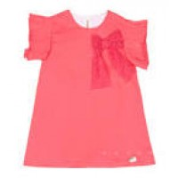 vestido coral con lazo EVE CHILDREN  VE 568