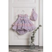 Vestido braguita y capota bebé DOLCE PETIT 2034