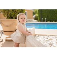 Vestido braguita y capota bebé 2106 DOLCE PETIT