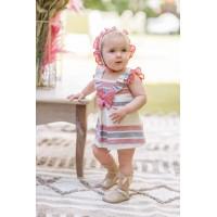 Vestido y braguita bebé 2129 DOLCE PETIT