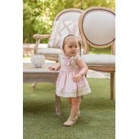 Vestido y braguita bebé 2165 DOLCE PETIT