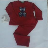 Chandal KIZ oso rojo ch31