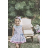 vestido estampado rosaDOLCE PETIT 2206V