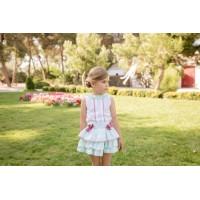 Conjunto blusa y falda infantil 2245 DOLCE PETIT