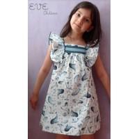 Vestido niña azul EVE CHILDREN 4146 VE