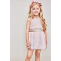 TARTALETA vestido   rosa A0261