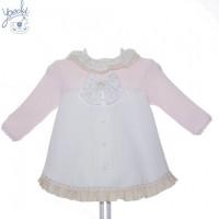 vestido bebé YOEDU art 5107 familia LAPONIA