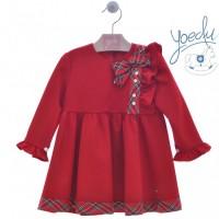 Vestido infantil Ribete 5161 YOEDU