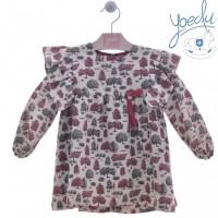 Vestido infantil Lienzo 5164 YOEDU