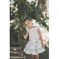 Conjunto niña blusa y falda DOLCE PETIT 2248