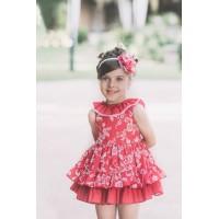 vestido rojo DOLCE PETIT 2262v