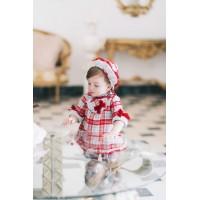 DOLCE PETIT vestido bebé con capota 2140VG
