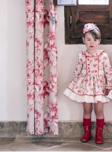 DOLCE PETIT vestido infantil ref 2273v invierno 2017