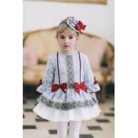 DOLCE PETIT vestido niña 2235V invierno2017