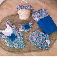 toalla playa azulona coleccion GUITARRA marena