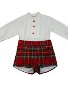 conjunto escocés DOLCE PETIT 2124