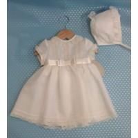 vestido bautizo con capota LILUS  23116