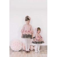 vestido niña rosa DOLCE PETIT 2246v