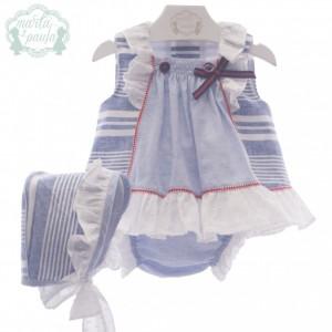 Jesusín bebé con capota y pololo 0144 MARTA Y PAULA