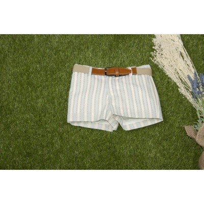 Traje infantil niño pantalón corto y cinturón 0224 YOEDU