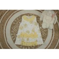 Vestido amarillo bebé Miramar 331 YOEDU