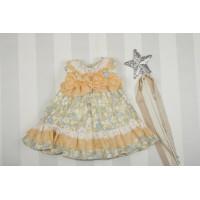 Vestido bebé Ópalo. MARTA Y PAULA. 0338