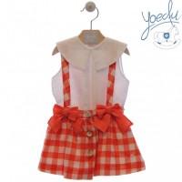Conjunto falda niña Angélica 0425 YOEDU