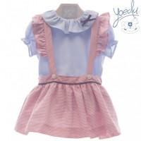 Conjunto falda niña Siena 0426 YOEDU