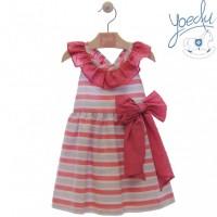 Vestido infantil buganvilla 0508 YOEDU