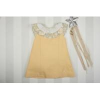 Vestido infantil amarillo MARTA Y PAULA 530 familia OPALO