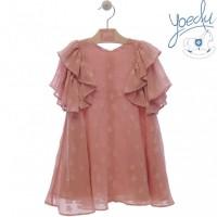 Vestido infantil Geranio 0541 YOEDU