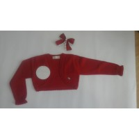 chaqueta hilo roja DOLCE PETIT 2200R