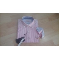 camisa spagnolo rayas rosas  basica popelin 4068