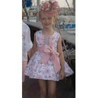 Vestido estampado rosa Lirios. NEKENIA. 1821817