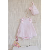 Vestido braguita y capota bebe 2008 DOLCE PETIT